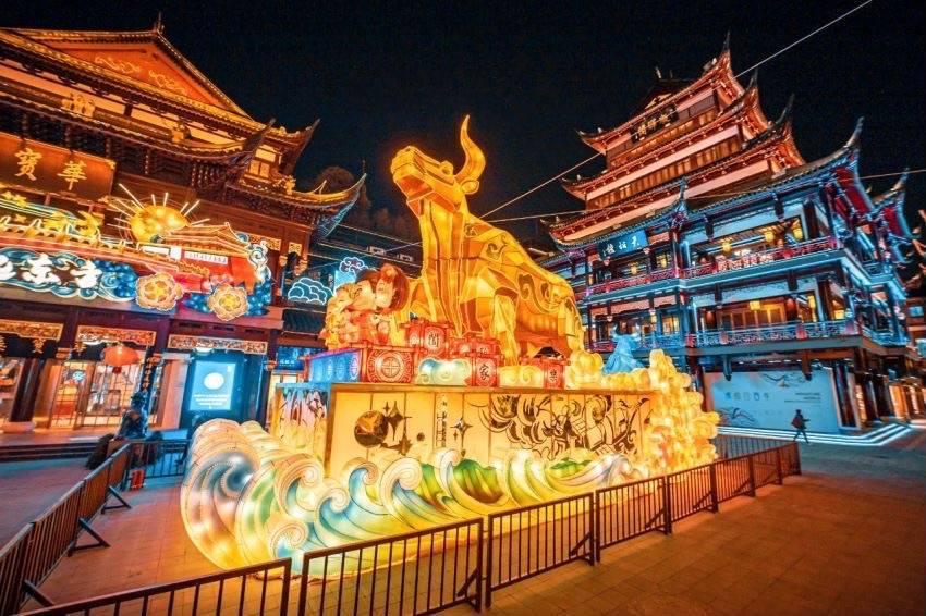 上海元宵节好去处!豫园焕彩演艺、光影秀、沪语民谣精彩不断