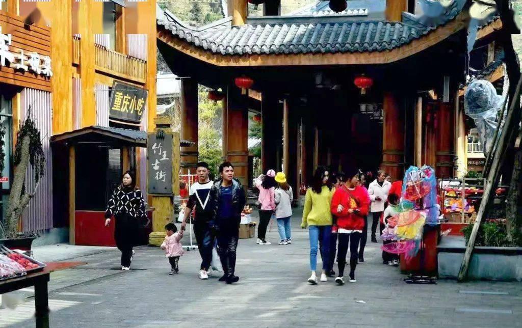 """""""中国傩城"""" 迎来春节游客高峰"""