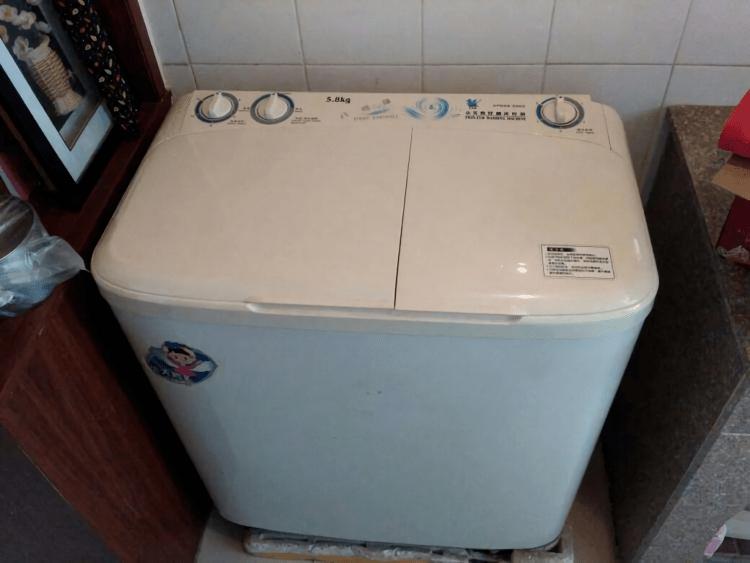 几年没洗的洗衣机,都给掏干净了!