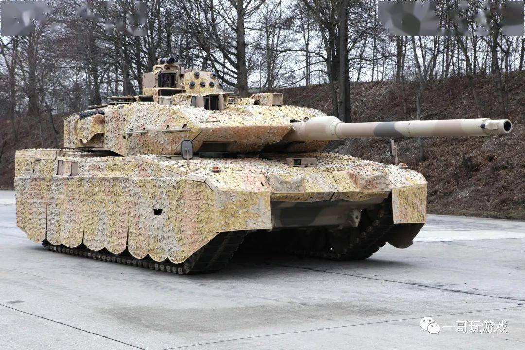 """世界上最好的坦克:欧洲列强第三代主战中的""""豹式""""2主战坦克有什么特点?"""
