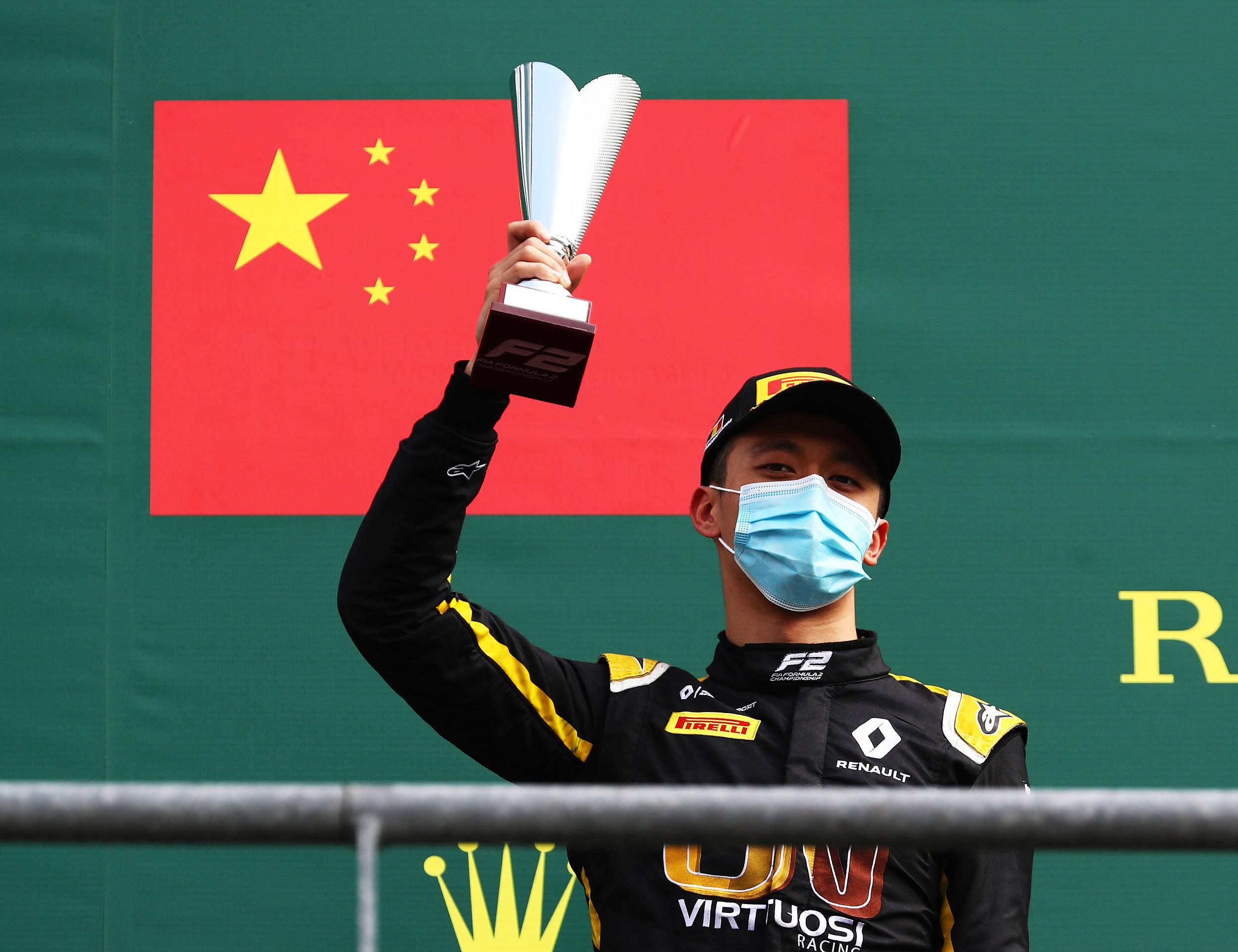 对话|中国车手周冠宇:进军F1,这是一代人一次的机会