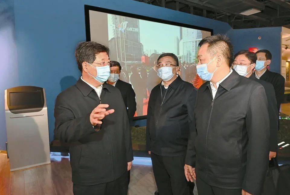 楼阳生在万家寨水务控股集团调研