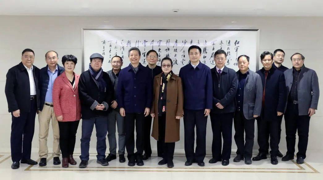 【新闻】中国书协领导莅沪调研指导上海书协工作
