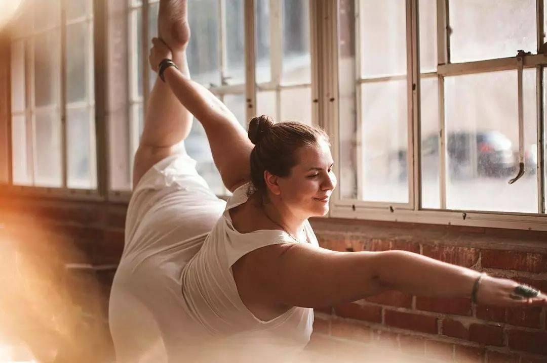 胖,从不是你拒绝瑜伽的理由!!