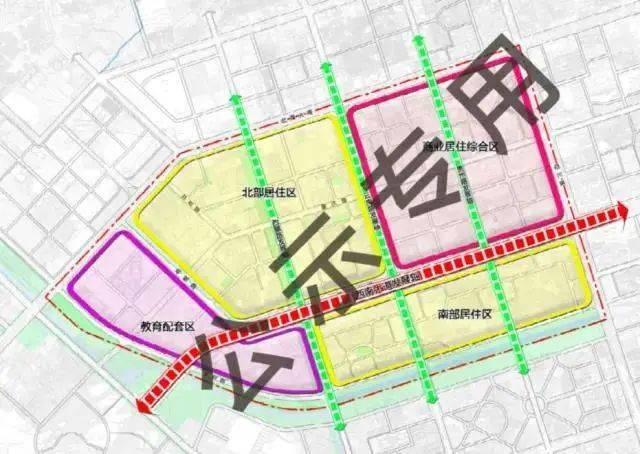北海铁路北片区规划调整,成都路以西片区规划为教育配套区