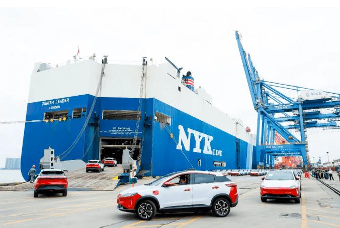 """中国电动汽车在欧洲市场""""加速发展"""":销量快速增长,品牌逐渐壮大"""
