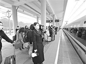 云南铁路客流逐步回升