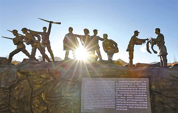 珠峰脚下铸就铁血忠魂——探访日喀则烈士陵园