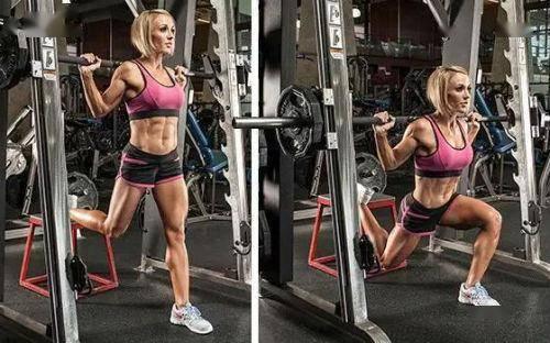 想要一个完美的腿部肌肉线条,不用担心,几个动作来帮你实现_双腿