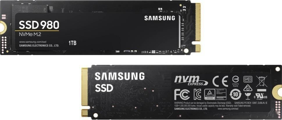三星 980 NVMe 固态硬盘曝光:136 层 TLC 颗粒,顺序读取 3500MB/s