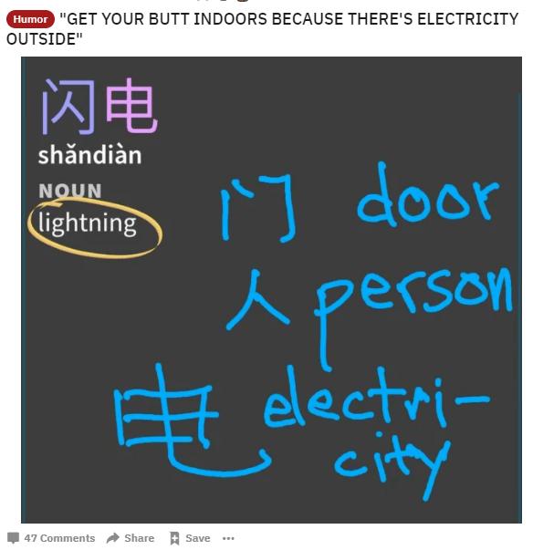 在美国贴吧上,一堆老外被学中文逼疯了的照片 - 11