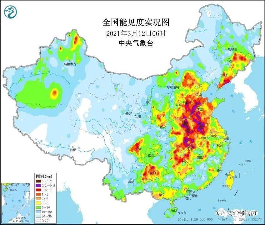 """未来三天郑州将""""雾气腾腾"""",大风降温降水也在路上了!"""
