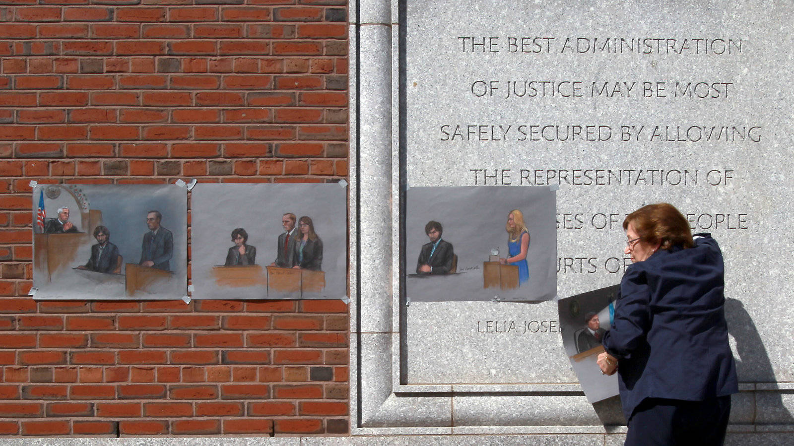 美最高法院考虑到修复墨尔本马拉松比赛爆炸事件肇事人死刑判决