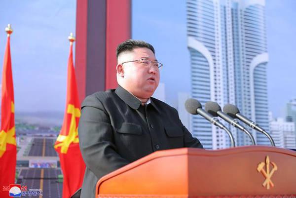 朝鲜平壤1万套新式住宅工程奠基,金正恩:无条件抓好落实