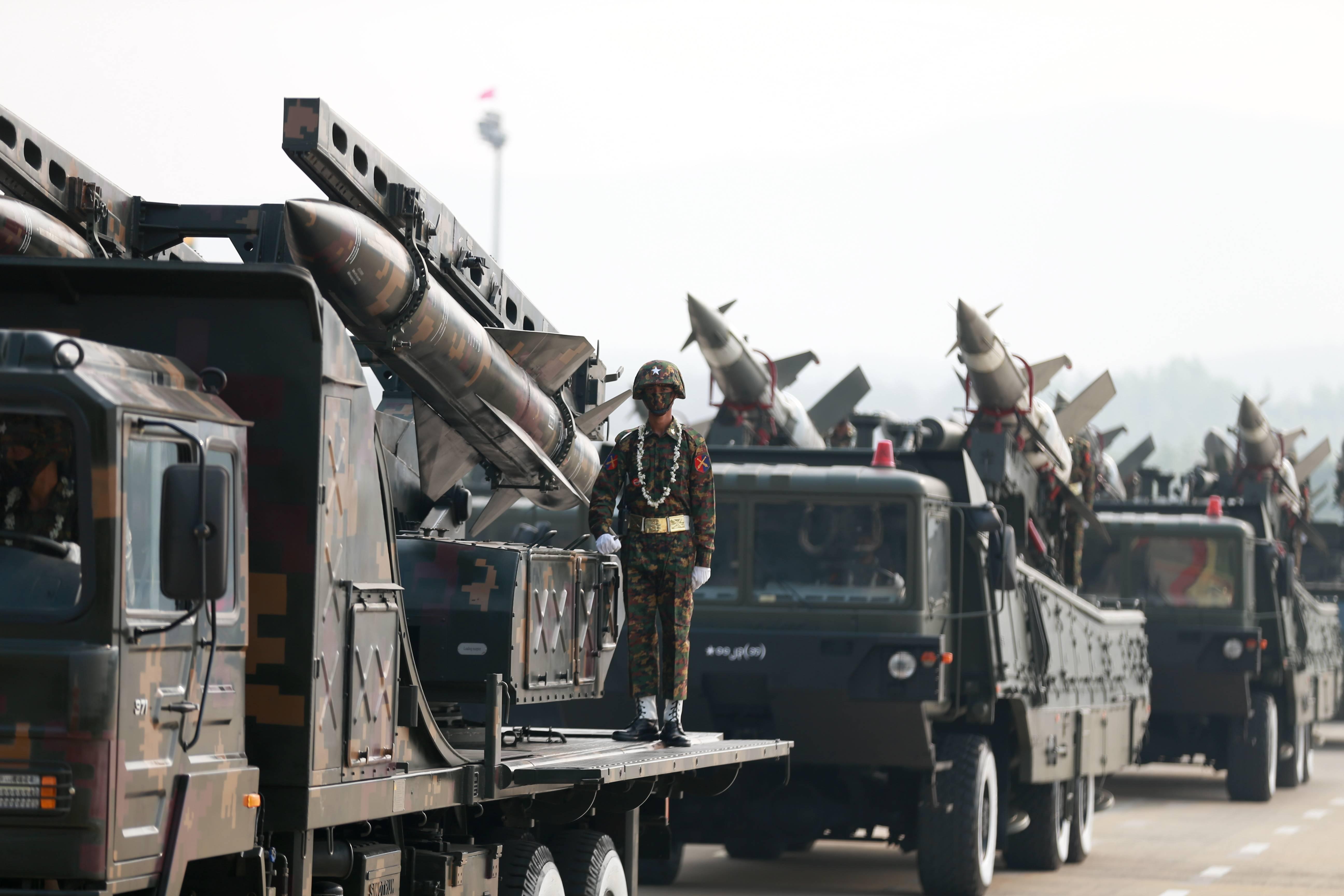 缅甸纪念建军76周年
