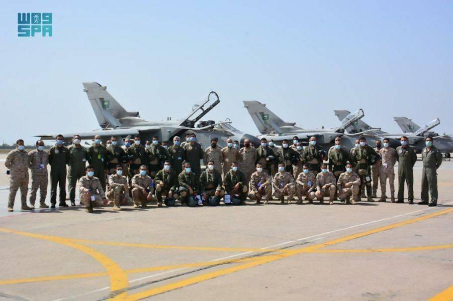 """沙特""""龙卷风""""战机赴巴基斯坦参加多国空军演习,将与""""枭龙""""对阵"""