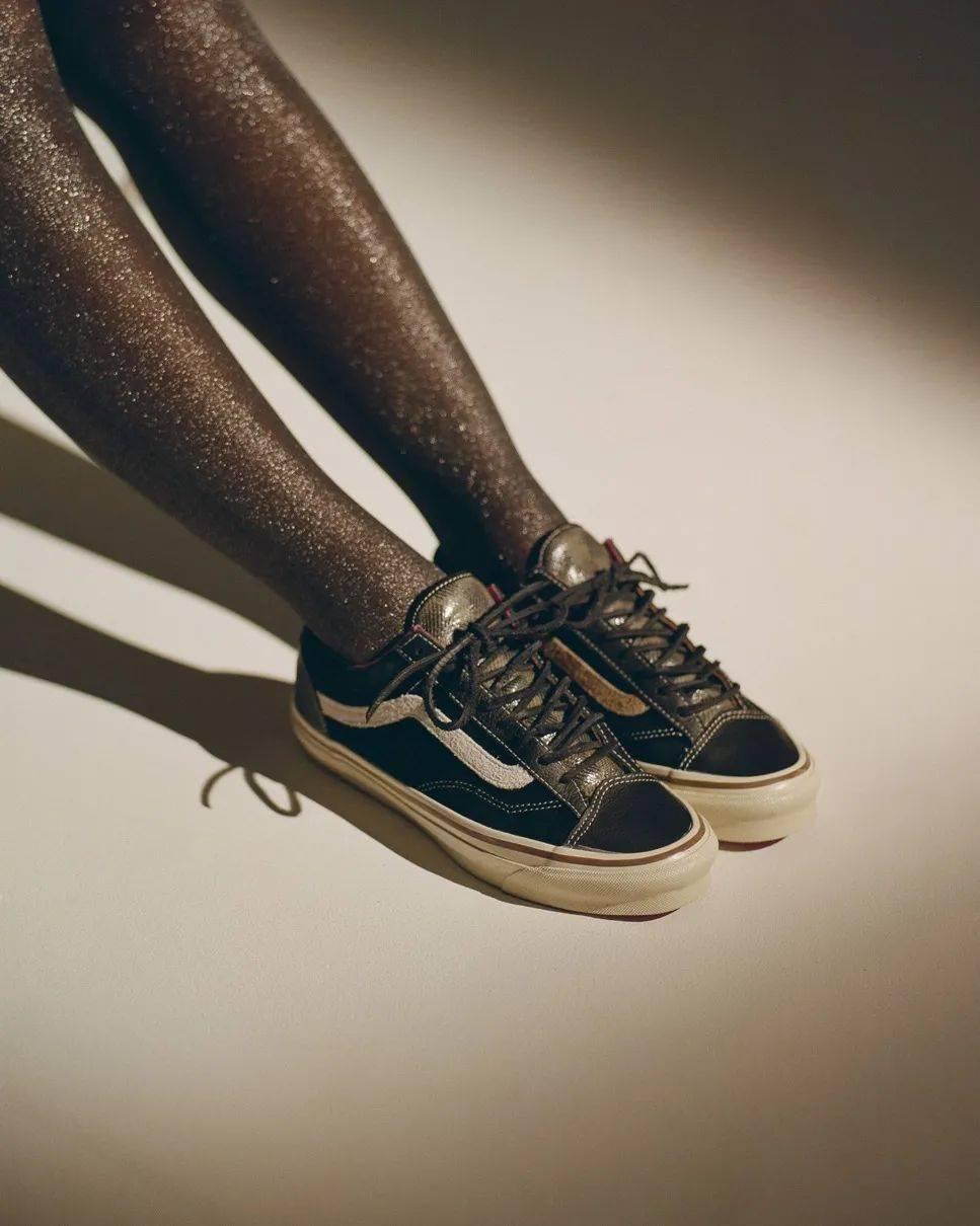 黑丝女+滑板鞋?Vans高端支线新联名曝光 本周限量发售! 爸爸 第4张