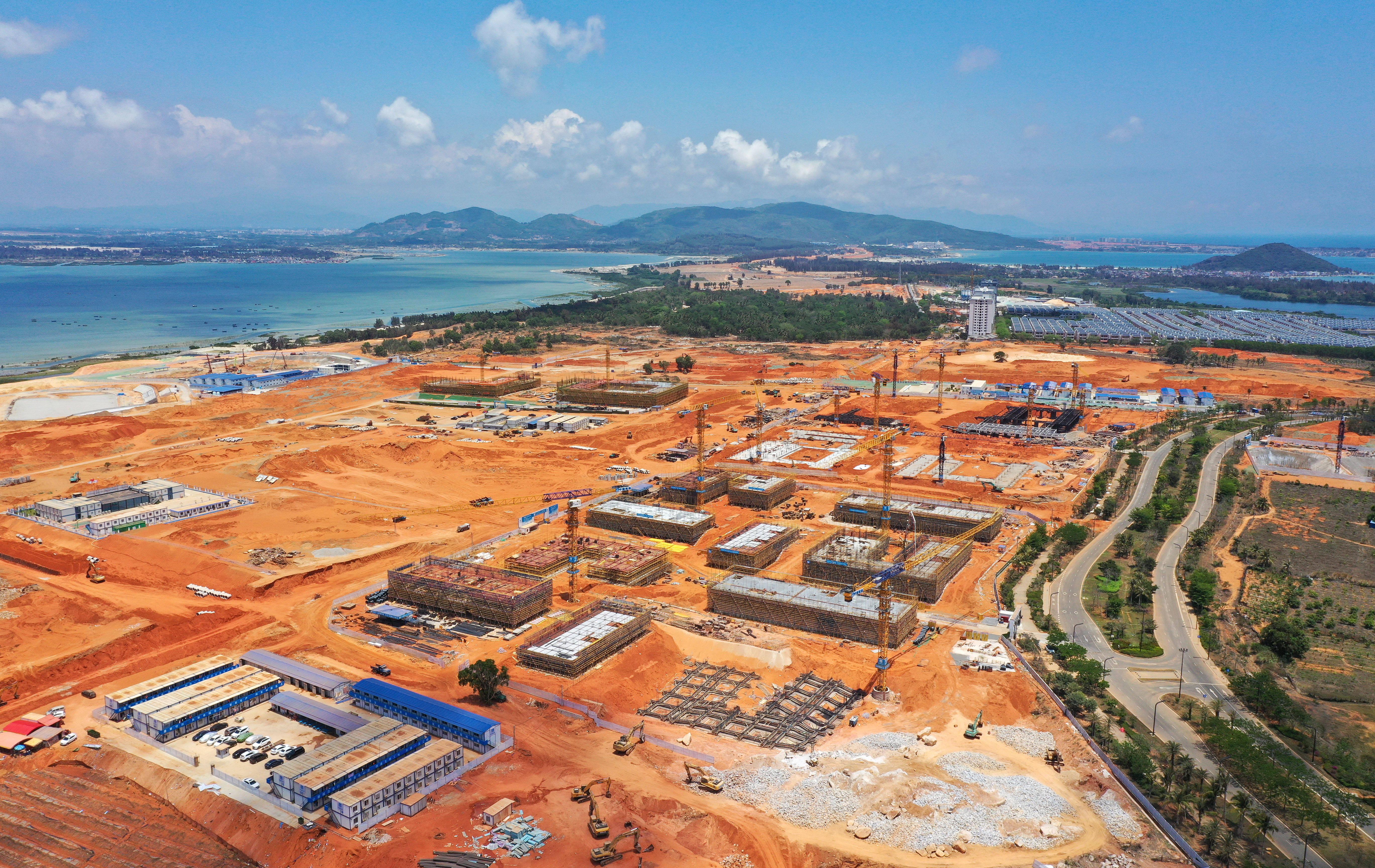 探访海南陵水黎安国际教育创新试验区