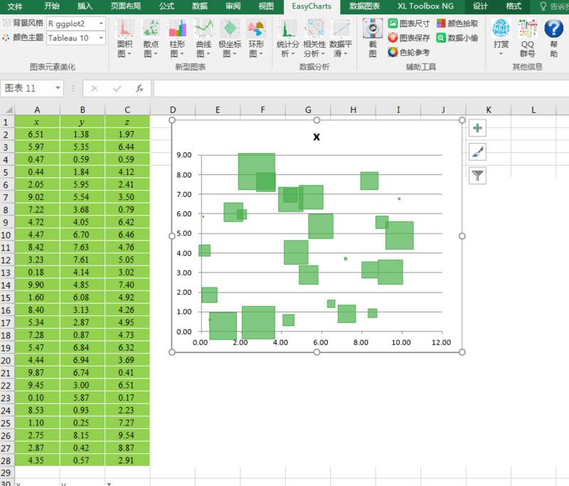 免费资源丨如何利用Excel插件制作数据可视化图表  第3张