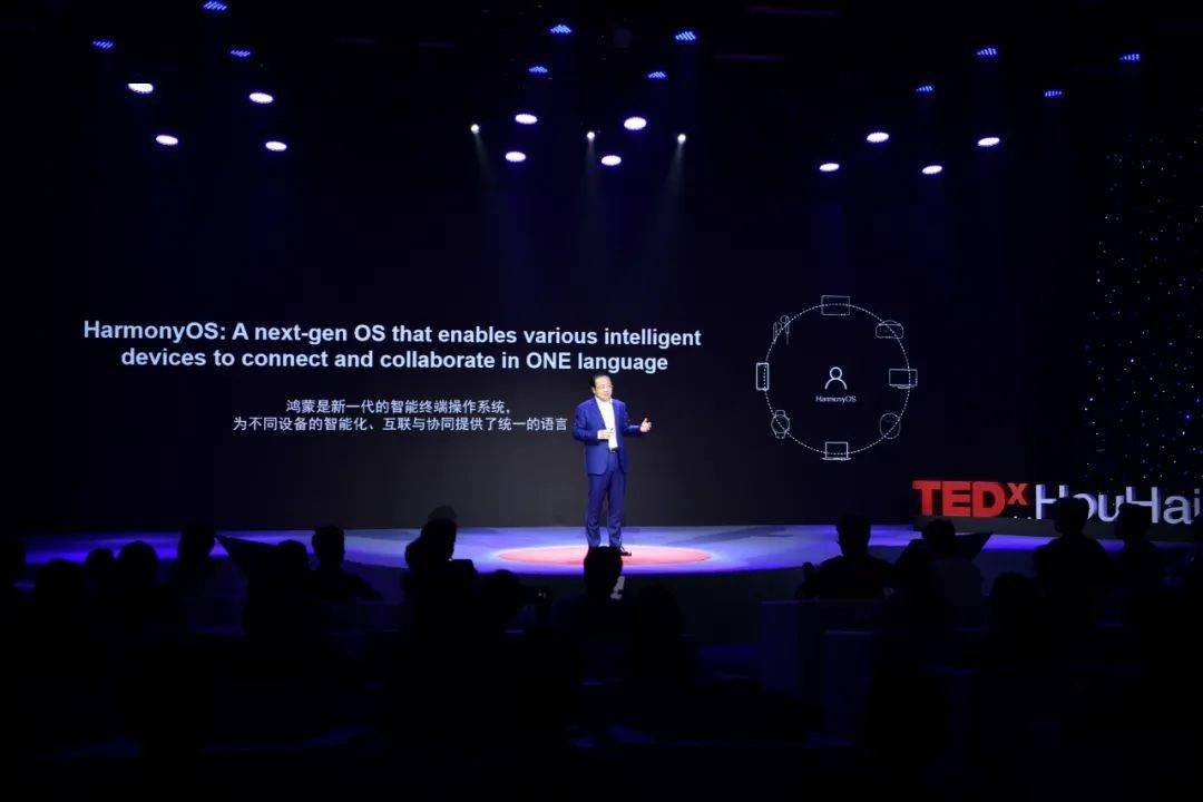 华为王成录:鸿蒙 OS 系统是不同设备的统一语言