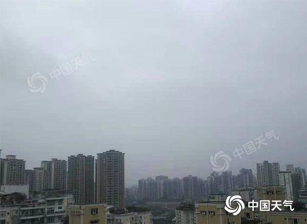 重庆市4月来日照时长创历史时间当期至少 东北部地区明日有望到