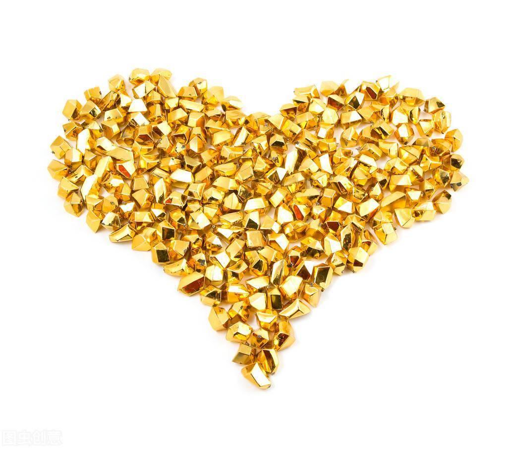 黄金,出现短期上涨的苗头