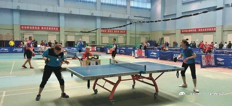 白银市职工乒乓球、羽毛球比赛开幕