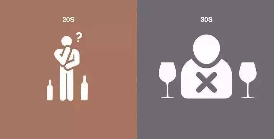 20岁与30岁喝酒的不同,90后更莫名戳中泪点