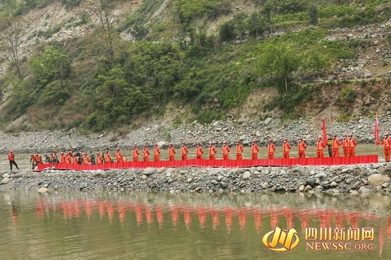 迎汛备战 四川省举行2021年山洪灾害防范应对演练