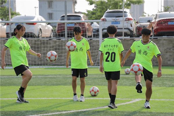 离开全运舞台25年,广西女足首次参加女子U18
