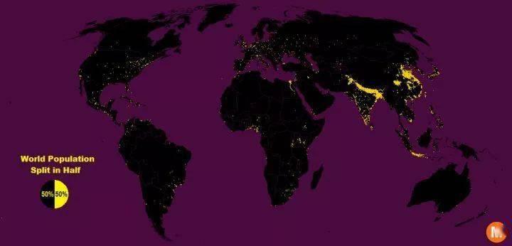 【地理视野】地理老师没有给你讲过这些罕见地图,因为可能会颠覆你的世界观  第25张