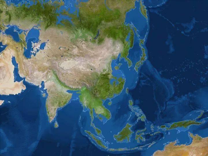 【地理视野】地理老师没有给你讲过这些罕见地图,因为可能会颠覆你的世界观  第39张