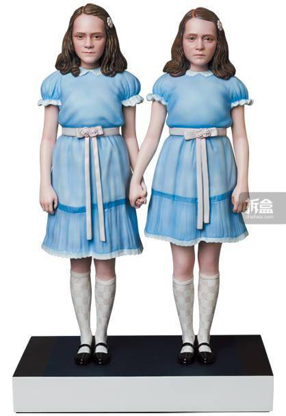 MEDICOM TOY 闪灵 THE SHINING 双胞胎 雕像手办
