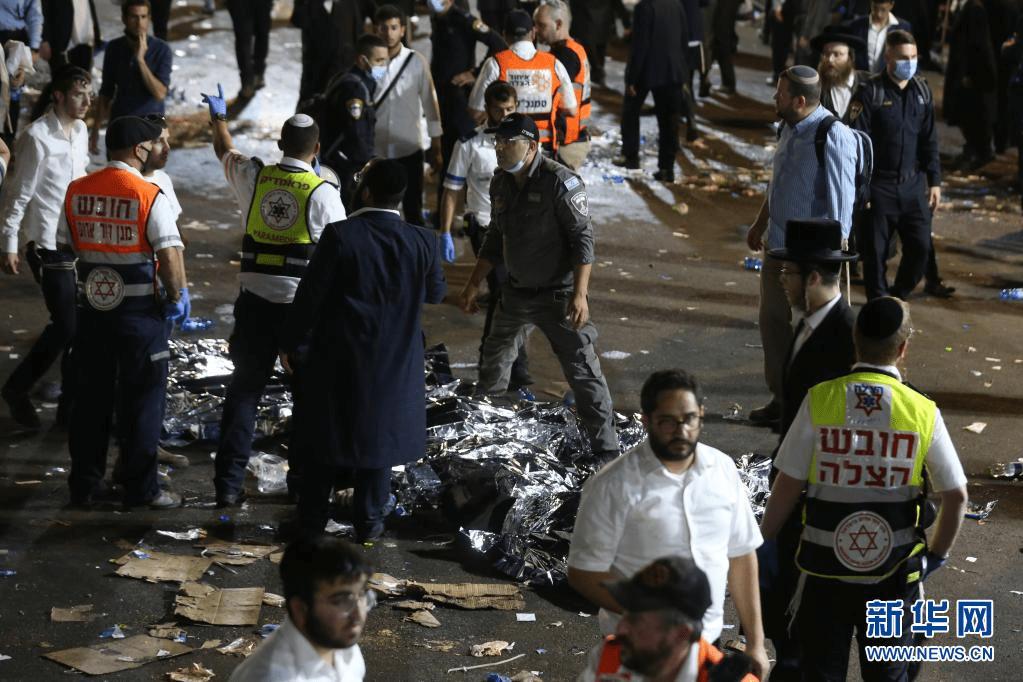以色列发生严重踩踏事故致至少44人死亡,普京向以总理致唁电