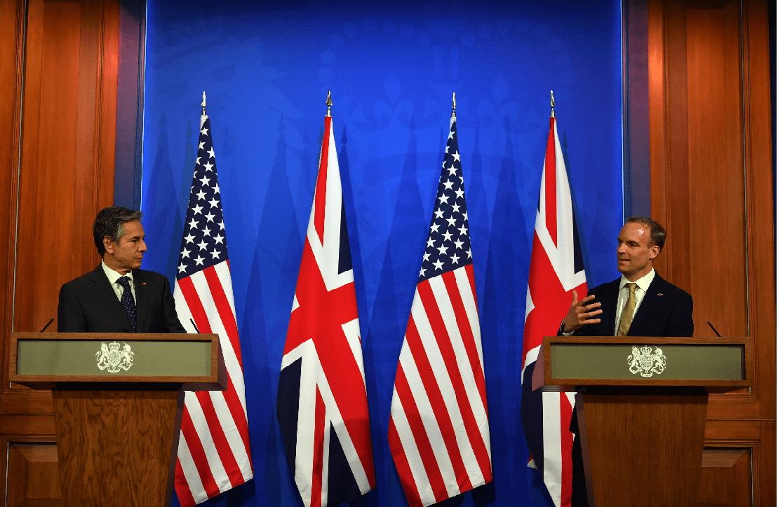 七國集團外長倫敦碰頭,美國國務卿布林肯:不會遏制中國崛起_會議