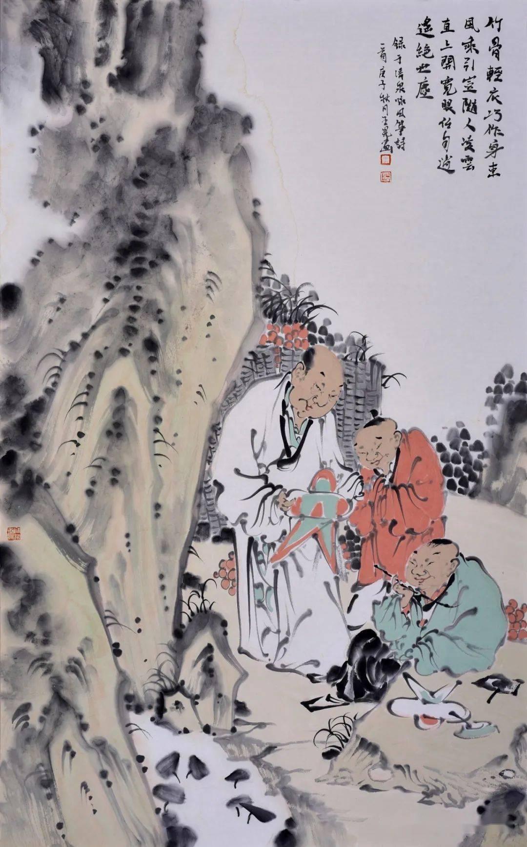 诗配画·4 ▎鸢都之邀——国际诗书画风筝文化主题展