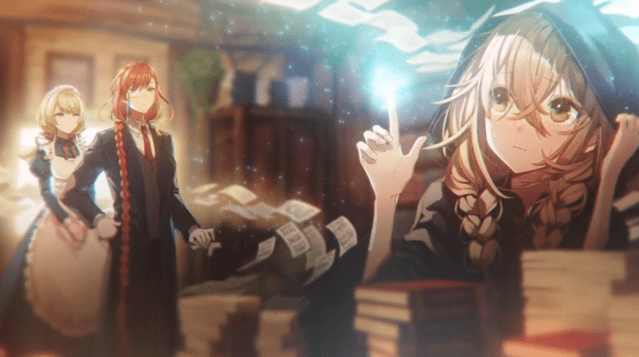 另类王道热血漫画《沉默的魔女》公开最新PV 最强大的魔法师性格怕生