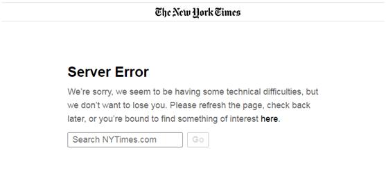 鸿图2注册CNN、纽约时报、英国政府…多个全球性网站瞬间瘫痪,发生了什么?(图1)