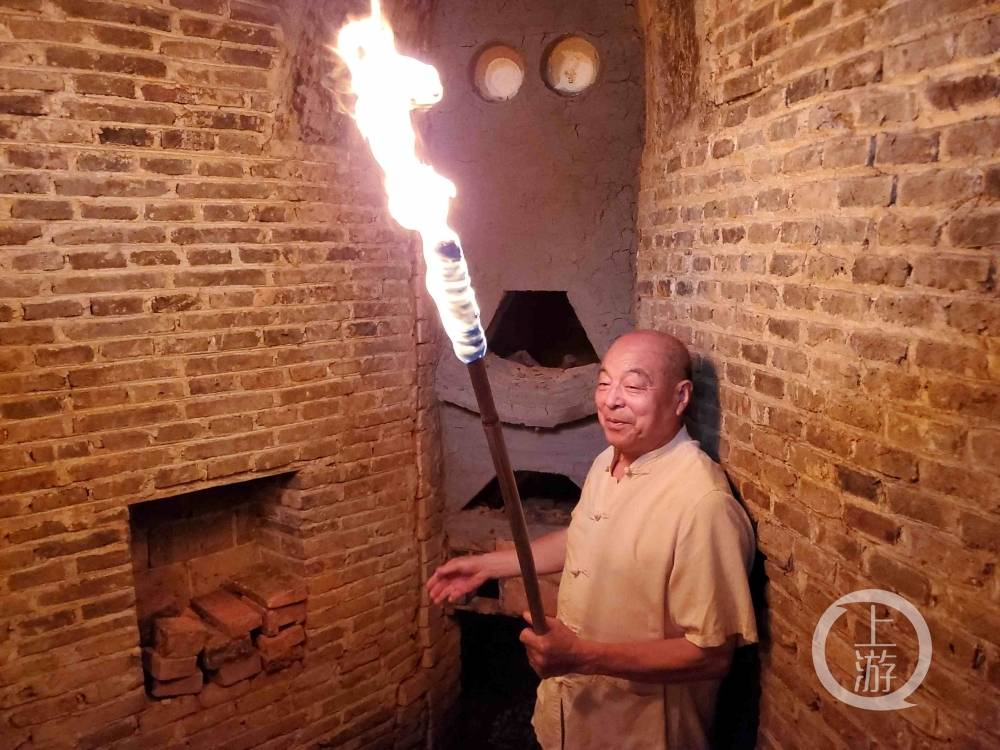 景德镇|葫芦·景德镇明代葫芦窑点火复烧:曾显赫一时风靡400多年,烧出过2.3亿元天价青花大罐
