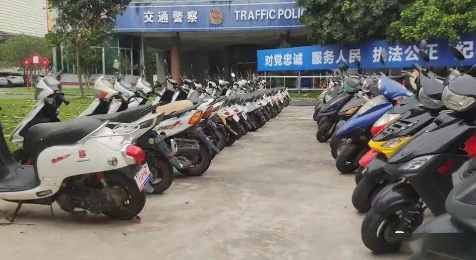 """云浮交警严厉打击""""鬼火摩托车""""一律暂扣车辆!"""