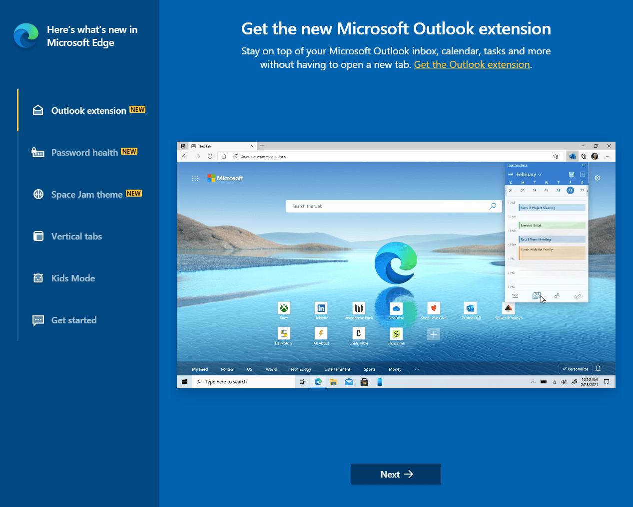 微软Edge 92浏览器体验:新增Outlook插件,可搜索浏览器历史