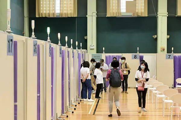 香港超300万人接种第一剂新冠疫苗