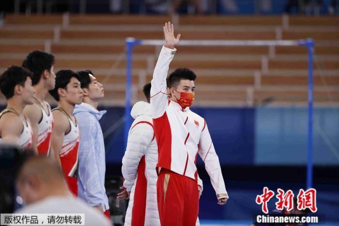 中国体操男团决赛摘铜 林超攀说对不起兄弟们