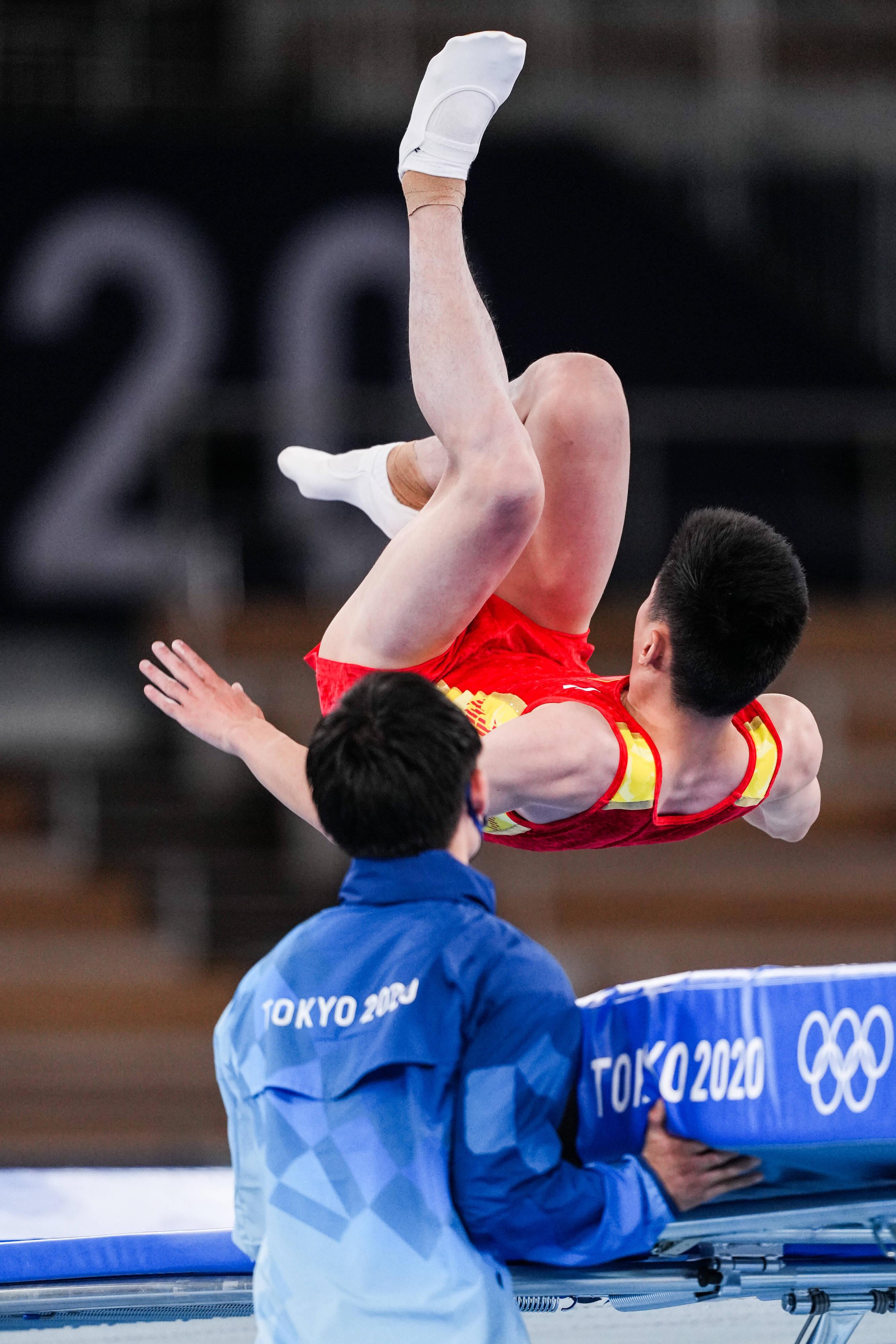 高磊蹦床预赛失误遗憾告别,他还有下一届巴黎奥运会吗5h9
