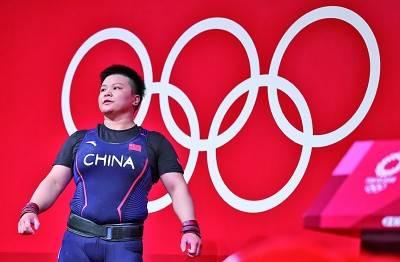 中国体育代表团一日五金