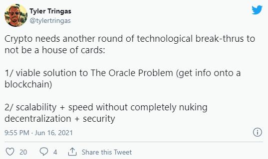 一文读懂区块链预言机:Oracle为什么这么重要?  第3张 一文读懂区块链预言机:Oracle为什么这么重要? 币圈信息