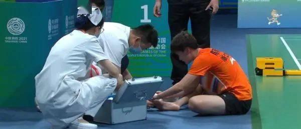 赢咖5注册陈雨菲比赛中脚被鞋割伤,突发伤情,李宁方面紧急回应!(图2)