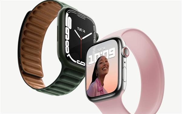 Apple Watch 7系列苹果智能手表发布:7年来首次大改的照片 - 2