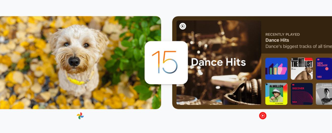 苹果 iOS/iPadOS 15 正式版推送,谷歌更新多款 App