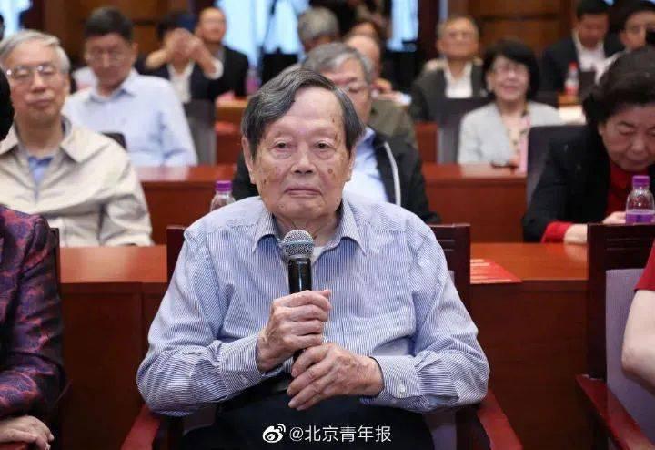 杨振宁百岁演讲,特别提到一个人